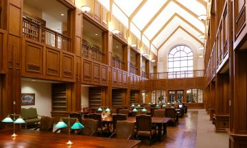 Chapman Reading Room in the OU Law Library