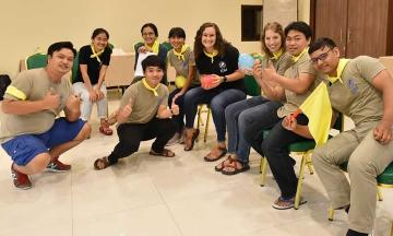 OU Law student Hannah White at her summer internship with the International Justice Mission in Thailand